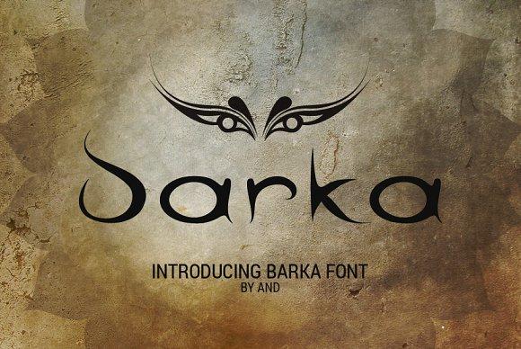 Barka Font