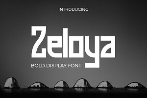 Zeloya Display Font
