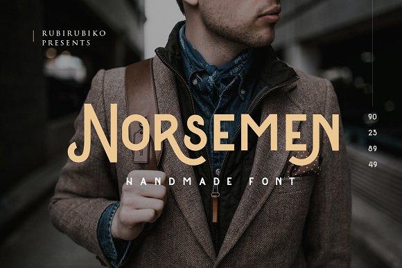 Norsemen Handmade Font