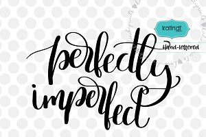 Perfectly imperfect SVG, positive qu