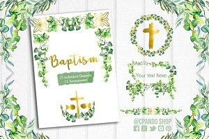 Baptism - First Communion clip art