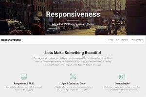 Responsiveness Premium