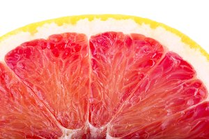half grapefruit slice background