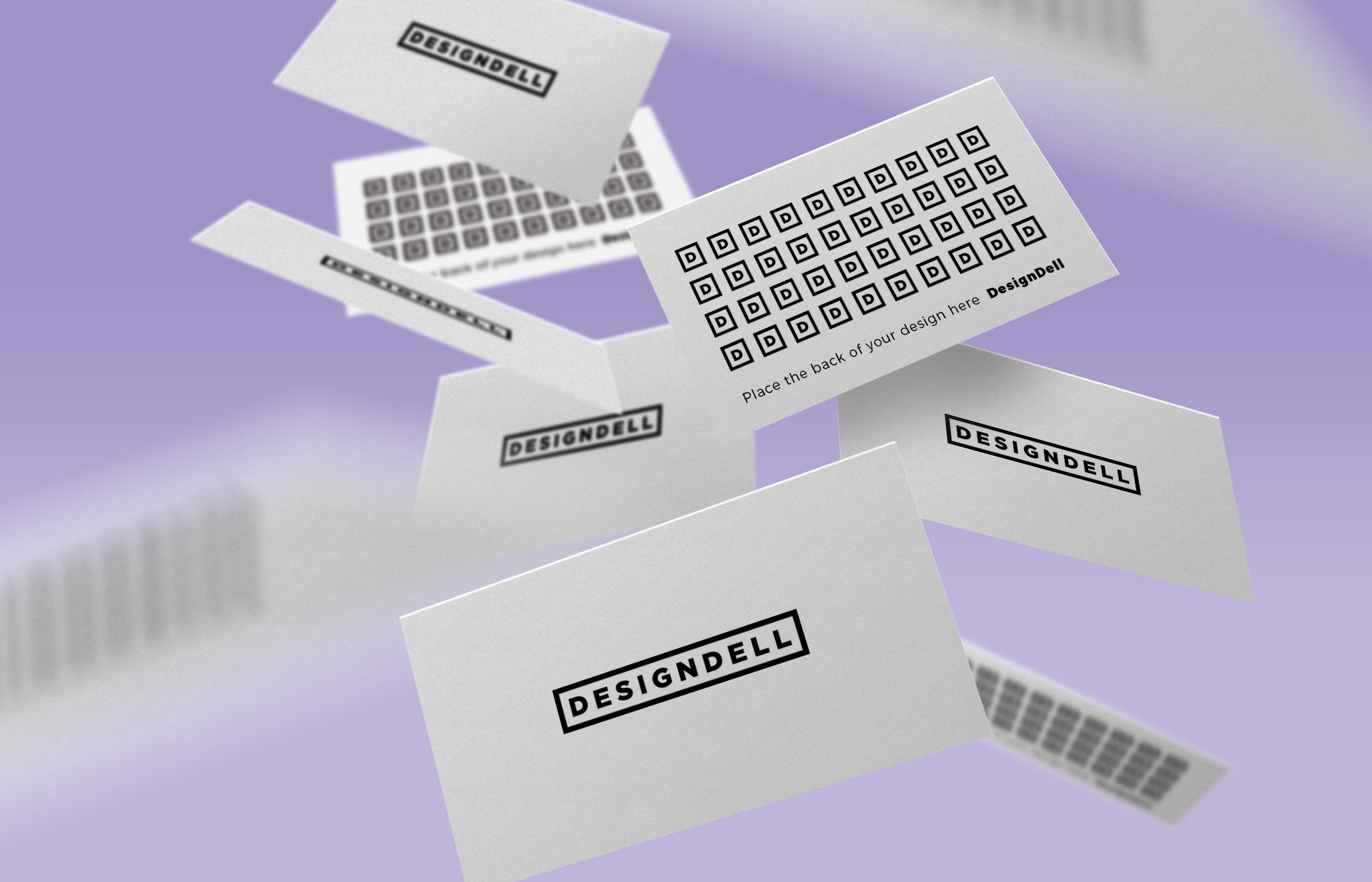 Floating business card mockup vol 2 product mockups creative market reheart Gallery