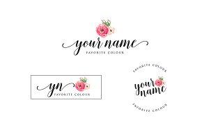 Rose Premade Logo