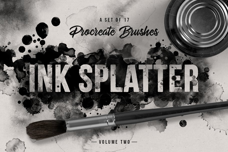 Ink splatter Procreate brushes vol.2 in Add-Ons - product preview 8