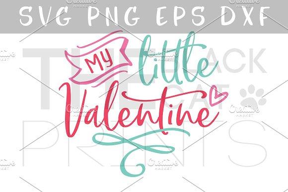 My Little Valentine SVG DXF PNG EPS ~ Illustrations ~ Creative Market