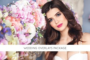 Wedding overlays package