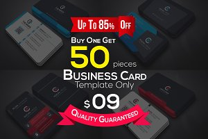 50 Business Cards Bundle