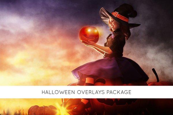 Halloween overlays package