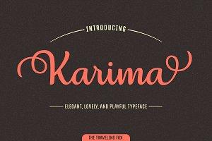 Karima - An Elegant Script