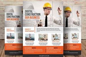 Architecture Flyer  Magazine Ad