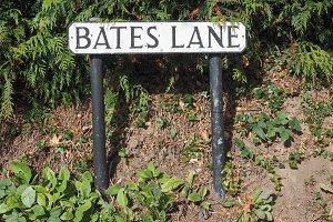Bates Lane in Tanworth in Arden