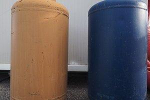fuel gas cylinder heating