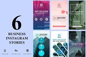 6 Business Instagram Stories