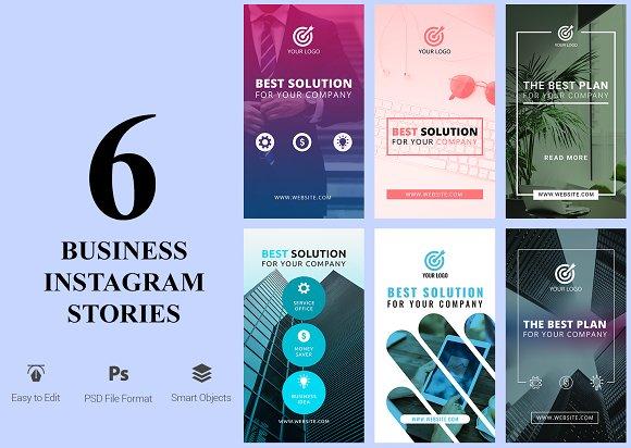 6 Business Instagram Stories