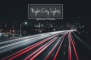 10 Lr Presets Night City Lights