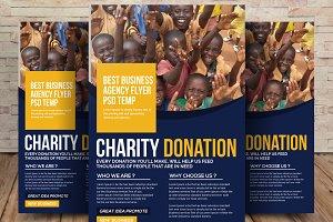 Humanitarian Aid Organization Flyer