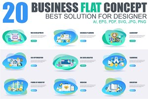 Business Flat Concepts