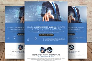 Solution and Software Flyer Template