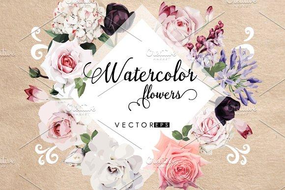 Flowers set 2018