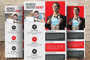 Global Business Agency Flyer