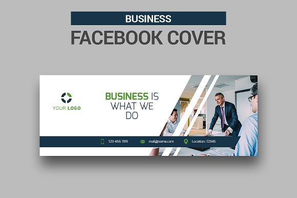 business facebook cover facebook templates creative market