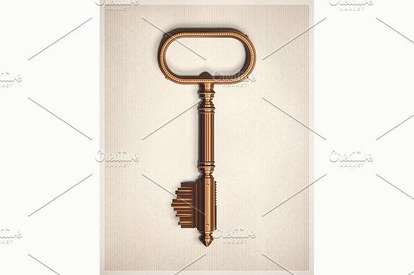 Retro Key