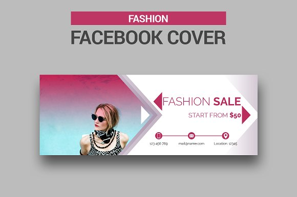Fashion facebook cover facebook templates creative market fashion facebook cover facebook pronofoot35fo Gallery