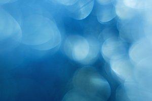 Aqua Blue Bokeh