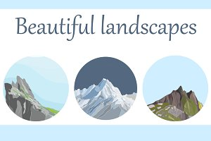Mountain landscapes