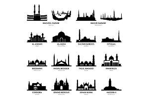 Masjid Al-Haram Mecca Famous Mosque
