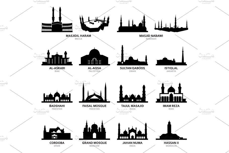 Masjid Al Haram Mecca Famous Mosque