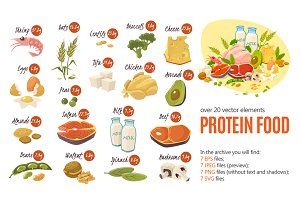 Protein Food Set