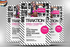 Traktion Flyer Template 4