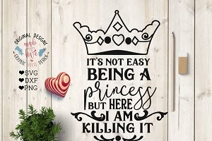 Princess Cut File Printable