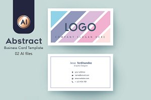 Abstract Business Card Template - 36