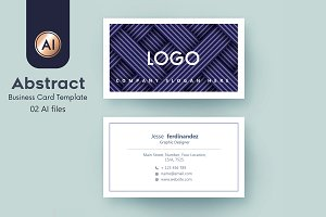 Abstract Business Card Template - 39