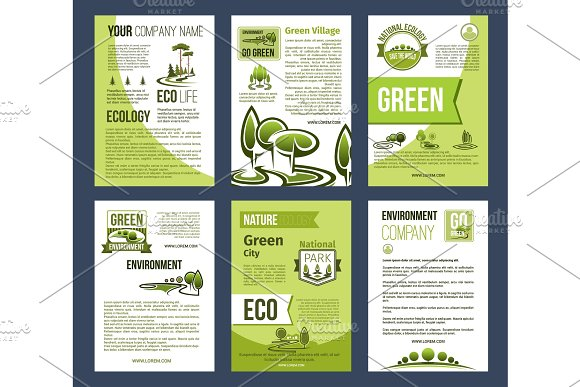 Ecology Green City Eco Business Poster Template