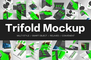 Trifold Mockups