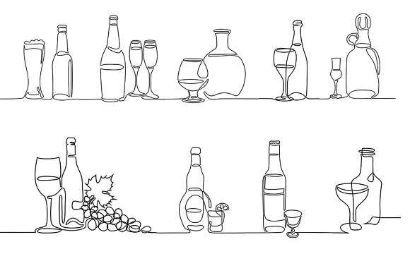 Drinks Icons Bundle
