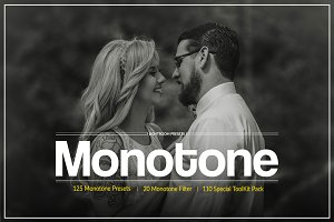 Monotone Lightroom Preset