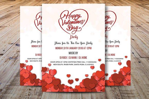 Valentines Day Party Invitation