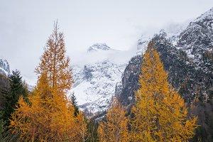 Winter fairytale at Vrsic mountain