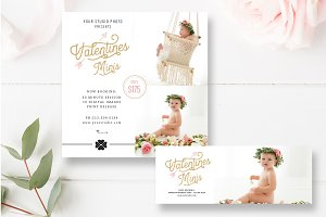 Valentine's Mini Session Templates