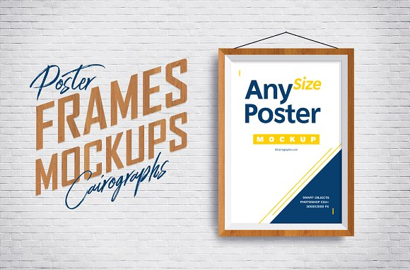 Download Posters Frames Mockups