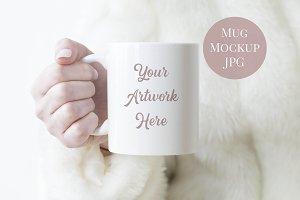 Mug Mockup - Winter White