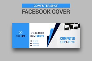 Computer Shop - Facebook Cover