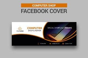Computer Shop - Facebook Cover