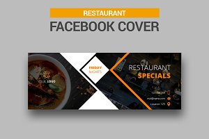 Restaurant Facebook Cover